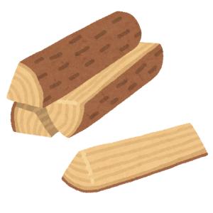 「ストーブ用の薪を購入したら何だかスゴイのが混ざってた…」→あまりにアートな薪が話題に