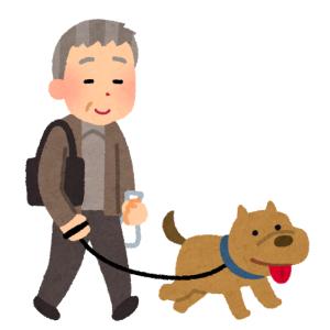 """【驚愕】「その発想はなかった…」愛知県で目撃された、""""とんでもない方法""""で犬を散歩させるおじいちゃん"""