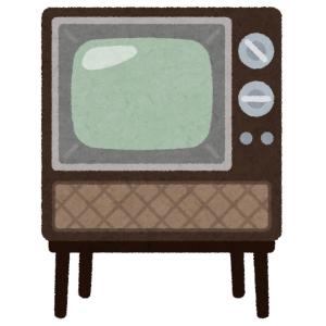 """「逆にカッコいいかも…」ある電車内に設置されたモニターが""""壊れたブラウン管テレビ""""のような状態にw"""