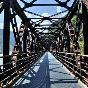 """「おまえは何を言ってるんだ」…岐阜県某所の橋に設置された看板が""""怪文書""""すぎる🤔"""