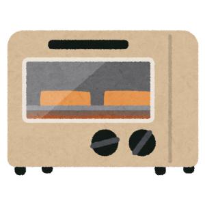 「写真撮ってる場合じゃねえ!」オーブントースターで焼いていたガーリックトーストがドえらい事に😱
