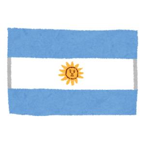 【朗報】アルゼンチンの国旗、煽り耐性高そうwww