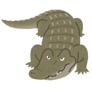【貴重映像】まるで恐竜映画…「ミシシッピーワニ」の鳴き声が凄まじい😱