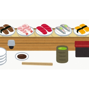 「これは未来…」渋谷駅の巨大なデジタルサイネージを使った回転寿司屋の広告がインパクト抜群www