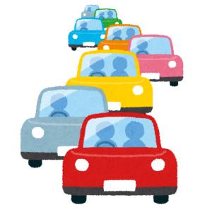 """【悲報】渋滞とは無縁の田舎道で""""謎の渋滞""""…その先頭でとんでもない事が起こっていた😂"""