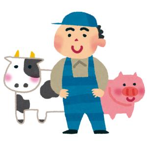 「そこだけはやめて…」畜産農家、仔牛からモーレツなクリティカルヒットを食らうw