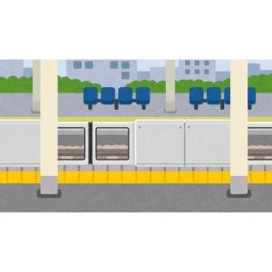 JR西日暮里駅、広告が減りすぎて正気を失うwww
