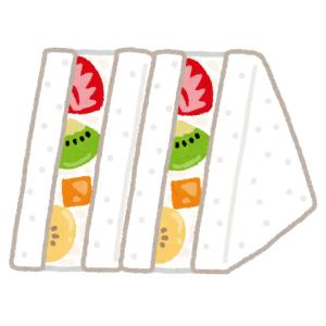 """「これは…サンドなのか?」あまりに""""映え""""なフルーツサンドが京都で発見されるw"""