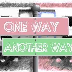 【衝撃】この道路標識…とんでもない二択を突きつけてくるwww