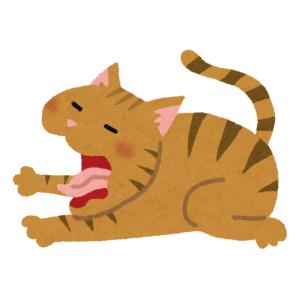 「うちの猫、あくびの顔がヤバすぎる…」→完全に悪魔が乗り移っていると話題にwww