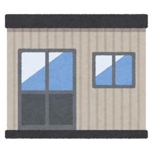 """「いますぐ入りたい」…渋谷の工事現場に建てられたプレハブ休憩所の""""名称""""が話題にwww"""
