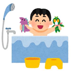 """【悲報】はじめて一人で風呂に入った男の子さん、浴槽に""""深海""""を作り上げてしまうww"""
