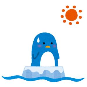 水族館にいたこのペンギン、なぜ暑い中泳がずに突っ立っているのかと思ったら…😅