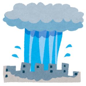 """【動画】数メートル先は大雨! ゲリラ豪雨の""""境目""""を偶然撮影したツイ民が話題に"""