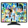 【サイバー】ホテルのテレビで「大相撲」を見ていたら…画面がバグって大変なことにwww