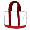 """「夏に使ったトートバッグを漂白したらなぜか赤くなった…」→夏ならではの""""原因""""があった!"""