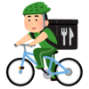 """【衝撃】ウーバーイーツの自転車配達員、""""絶対アカン場所""""を走行😱"""