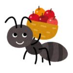 「なんて純真な…」エサの蝶を運ぶアリを見た3歳児の詩にツイ民の心が洗われるww