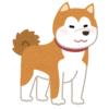 秋田犬にフリースを着せたら…謎生物になったwww
