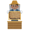 【衝撃】ローヤルゼリーでおなじみ「山田養蜂場」直営店のオブジェが恐ろしすぎるwwww