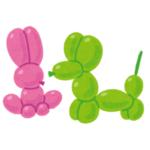 """【一致】ピンク色の風船を使った「バルーンアート」は""""アレ""""を再現するのに最適だったwww"""
