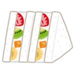 """【オッス】スイーツ専門店で買った「フルーツサンド」が…すごく""""ドラゴンボール""""だった😂"""