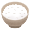 【衝撃】ご飯を食べようとテーブルから「お茶碗」を持ち上げたら…信じられない事が起きたwww