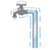 【悲劇】「チョロチョロと水を出しておくと水道管の凍結防止になる」を実践→翌朝、衝撃の光景がw