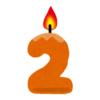 【躍動感】2歳の誕生日にはじめて「ロウソクの火」を見た男の子のリアクションが素晴らしすぎるwww