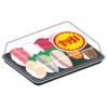 「これはひどい…」あるスーパーの寿司に貼られた値引きシールがあまりに巧妙だと話題に🤔