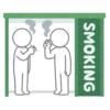 【迷路】密対策が施された喫煙所が…まるでダンジョンのようだと話題にwww