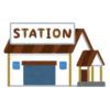 【恐怖】小田原にある小さな駅のロータリーに設置されたオブジェが猟奇的すぎる…😨