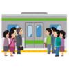 【愚策】緊急事態宣言に伴い電車を減便した30日朝のホームの様子がこちら😱