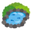 【恐怖】この池の看板…大事な場所が消えたせいで不安しかないwww