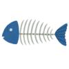 """「FFのダンジョンみたい…」口の中から撮影した""""魚の頭""""が美しすぎた😳"""