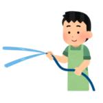 """【動画】奄美空港の整備員による""""水アート""""が凄すぎるwww"""