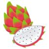 【衝撃】「ドラゴンフルーツ」を丸ごと使ったフルーツサンドの断面が豪快すぎる件www
