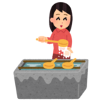 【ケモナー歓喜】函館にある神社の「手水の使い方」看板が可愛すぎるw